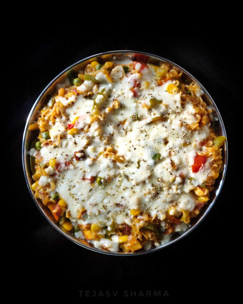 Cheese Maggi Made by Tejasv Sharma