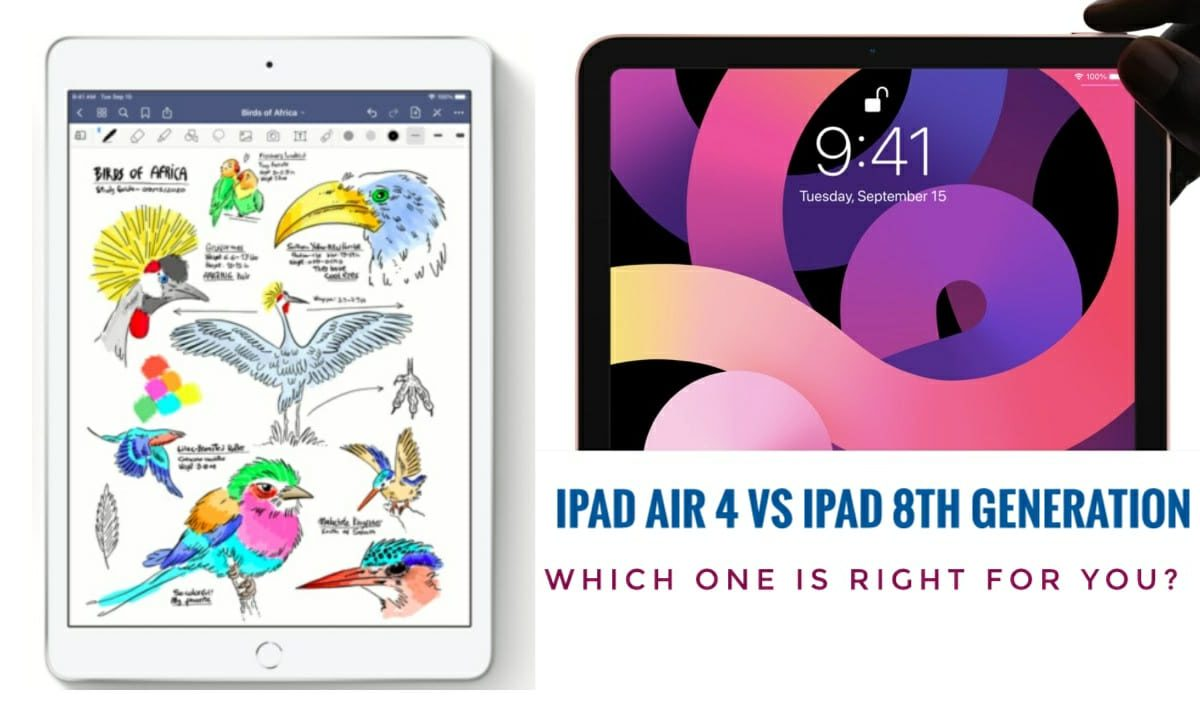 Which iPad You Should Buy? |iPad Air 4 or iPad 8th Gen
