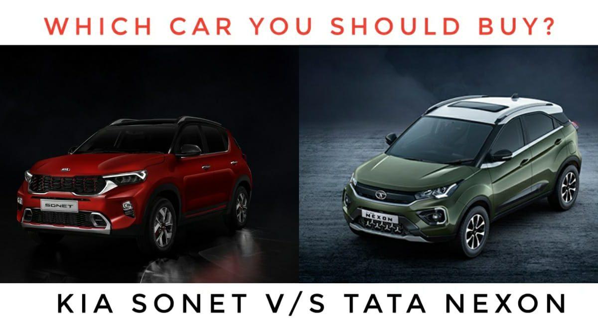 Which Car You Should Buy? Tata Nexon or Kia Sonet