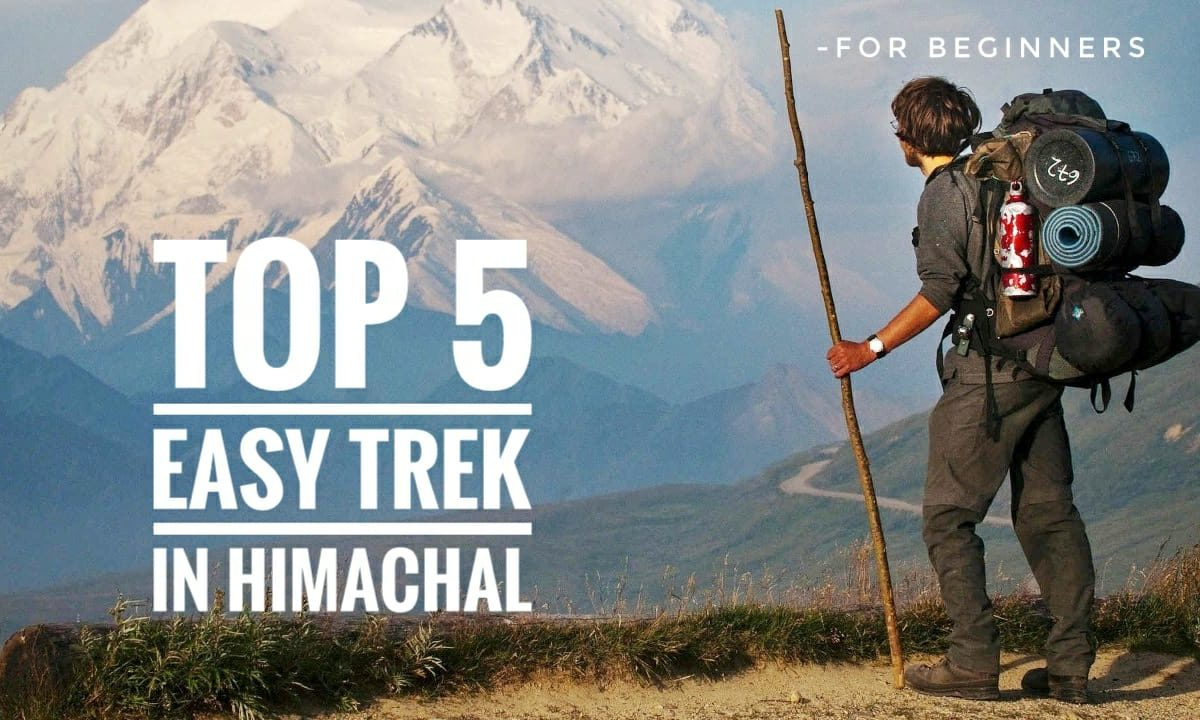 Top 5 Easy Treks In Himachal – For Begginers